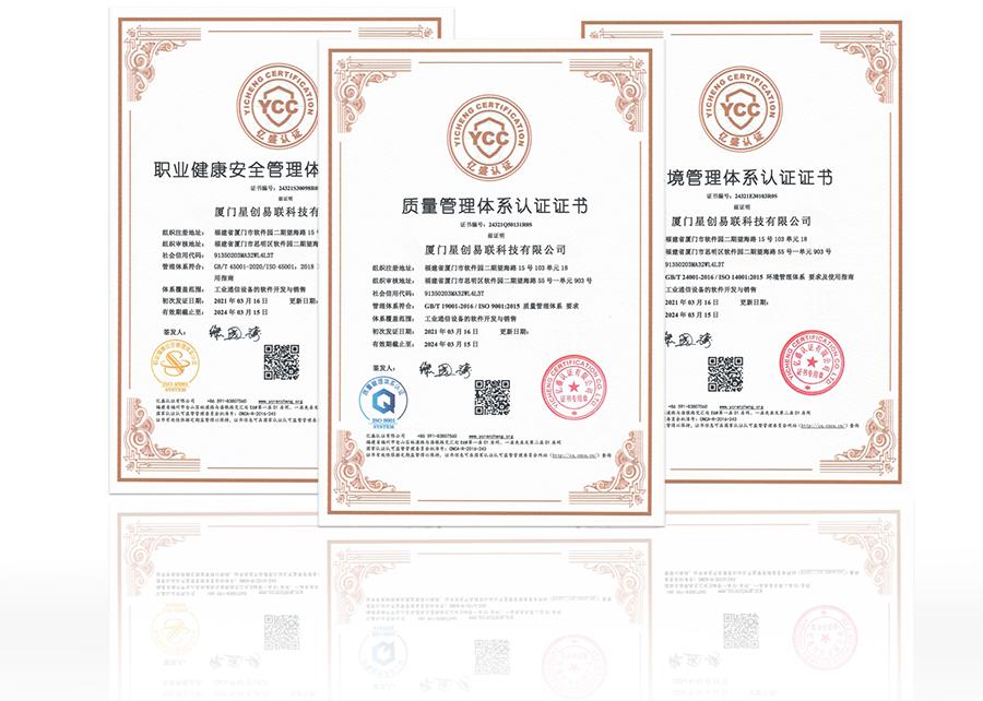 ISO工业通讯设备证书